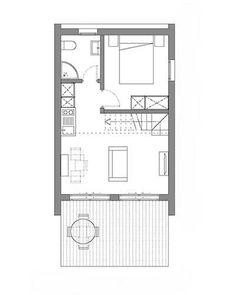 casa refugio compacta