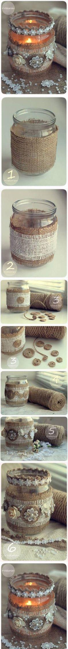 Beautiful Jar Craft | DIY & Crafts