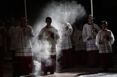 Ancient Traditions ( Here, the purpose of incense at Mass )..
