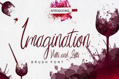 Imagination Script Font from FontBundles.net