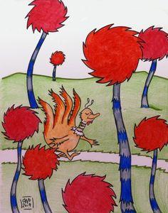 Hand Turkey #5 Dr Seuss Turkey ©CarolynWatsonDubisch