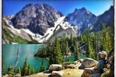 Lake Colchuck, Alpine Lakes Wilderness, Leavenworth, Washington