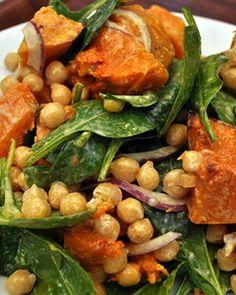Pumpkin and Chickpea Salad