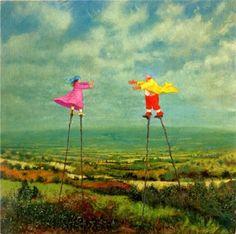Vinttiputiikki - Stilt Walkers - Simon Garden (c)