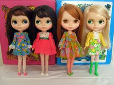 I had one of these Blythe dolls in 1972.  Now, they're worth $2000!