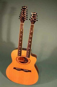 Moonstone Guitars - Doubleneck