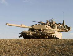 Abrams M1A1 tank