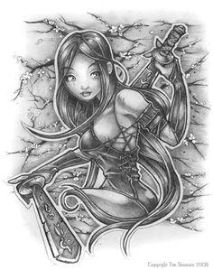 Psylocke by telegrafixs on deviantART Love Drawings, Drawing Sketches, Art Drawings, Sketching, Marvel Girls, Comics Girls, Pin Up Tattoos, Hero Girl, Psylocke