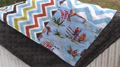 Ready to Ship Barn Dandy Patchwork Blanket by DesignsbyChristyS, $35.00