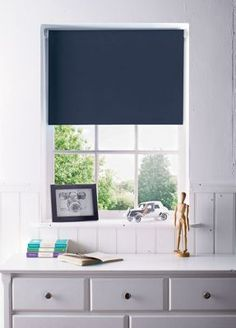 Home of Style Navy Blackout Blind - 120cm