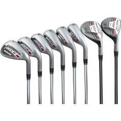 Best Cheap Adams Golf Redline Irons - Set of 8 Clubs (Right, Steel, Regular ) Golf Driver Swing, Golf Drivers, Womens Golf Wear, Golf Tips Driving, Golf Score, Club Face, Golf Irons, Face Design, Play Golf