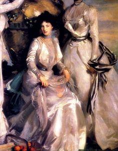 Les Soeurs Acheson (détail), 1902, by John Singer Sargent (American, 1856-1925)