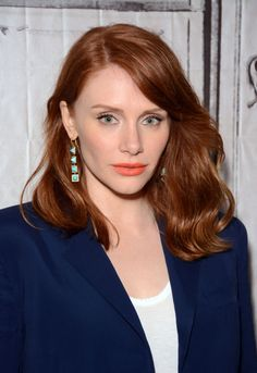 Bryce Dallas Howard at the 2015 AOL BUILD Speaker Series. http://beautyeditor.ca/2015/06/15/best-celebrity-beauty-looks-bryce-dallas-howard