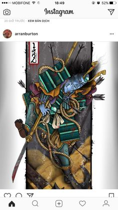 Tomomori art I finished today Kabuto Samurai, Samurai Art, Japanese Tattoo Symbols, Japanese Tattoo Art, Face Painting Tutorials, Face Painting Designs, Ed Hardy Tattoos, Koi, Traditional Japanese Tattoos