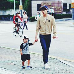 Oh! My Baby : Filming - Kai with Taeoh