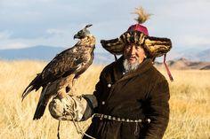 Moğolistan'dan bir kartal avcısı…