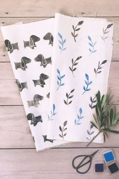 How to print fabric | Project in The Big Comic Relief Crafternoon