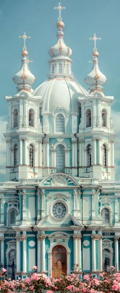 The Smolny Convent, Saint Petersburg, Russia
