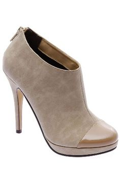 natural ankle boots