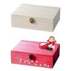 Holz Rechteck Box