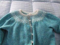 Top Down Icelandic Sweater