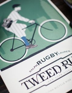 Would have loved to have been at Rugby's Tweed Run.  @FECastleberry