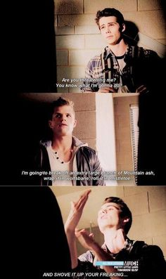 I just can't get enough of Stiles in this scene... #Teenwolf #Stiles