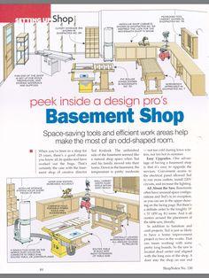 Small Woodshop Setup Ideas Workshop Layout Planning Stu S Shed