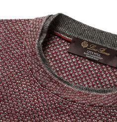 Loro PianaCity Pull Knitted Baby Cashmere Sweater