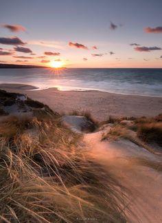 Sunset (Hayle, Cornwall, England) by Sarah Brooks