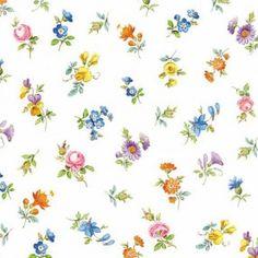 Servilleta flores espolvorear 20