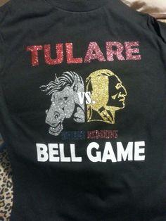 Bell game t-shirt.