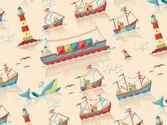 Sea pattern by Philip Laibacher