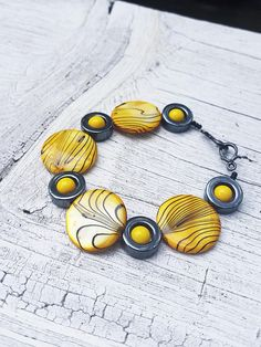 Yang Xia-Long Bracelet RWBY Jewelry Yellow Beaded Bracelet Yang Bracelet RWBY Gifts Nerd Gifts Alex And Ani Charms, Nerd, Fancy, Jewellery, Trending Outfits, Unique Jewelry, Handmade Gifts, Bracelets, Etsy