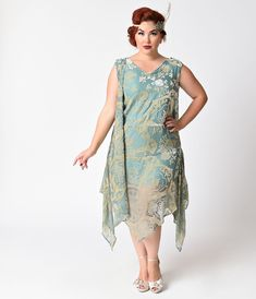 1920 inspired dresses plus size