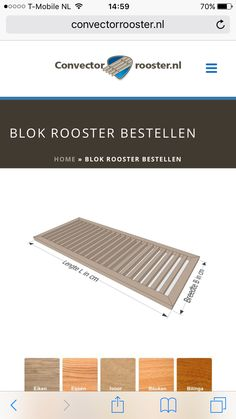 Convectorput rooster