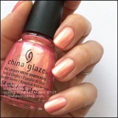 """China Glaze - """"Sun's Out, Buns Out"""", Spring Fling 2017 Collection"""
