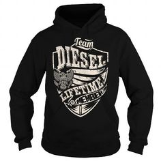 Awesome Tee Last Name, Surname Tshirts - Team DIESEL Lifetime Member Eagle Shirts & Tees