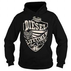 Last Name, Surname Tshirts - Team DIESEL Lifetime Member Eagle