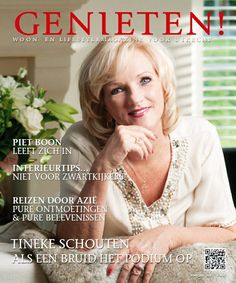 De al verschenen uitgave van Genieten! Magazine met Tineke Schouten