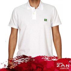 Torça com muito estilo pelo Brasil! #VaideZan