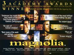 An original, rolled, British Quad movie poster from 2000 for the UK theatrical release of Magnolia with Tom Cruise & Philip Seymour Hoffman. Melinda Dillon, Cruise Quotes, Caitlin Moran, Philip Seymour Hoffman, Thomas Anderson, Z Cam, Best Supporting Actor, Original Music, Movies