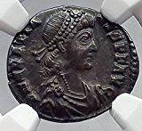 GRATIAN 379AD AR Siliqua Roma Authentic Ancient Roman Coin NGC Ch XF i60180 Ancient Roman Coins, Ancient Romans, Coin Art, Old Coins, Seals, Rings, Coins, Seal, Ring