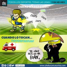 "#ElCartonDelDia para @purakuraweb ""TE HACE FALTA VER MAS BAX"" #FinalApertura2016 @ClubAmerica @TigresOficial"