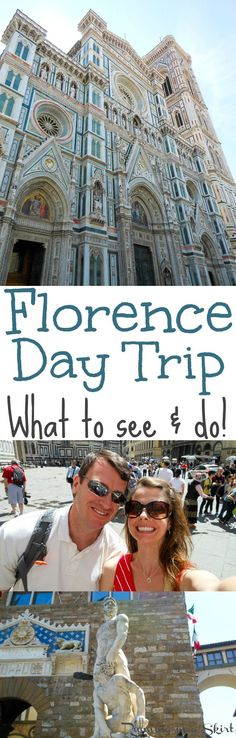 Florence, Italy Day Trip... what to see & do!  A great travel blog sharing highlights of one day in Florence.  What to do in the city and beautiful places to see for a fun one day adventure. / Running in a Skirt