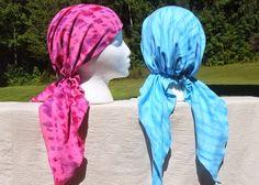 Snip-rip-Hurá: chemo šátek vzor