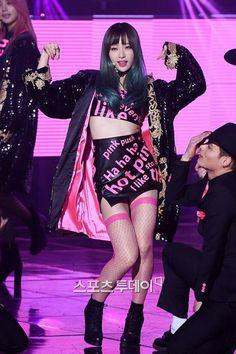 Imagen de hot pink, kpop, and hani