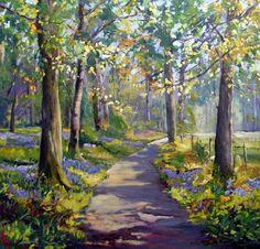 Watercolor Pictures, Watercolor Landscape Paintings, Watercolor Trees, Landscape Drawings, Landscape Photos, Landscape Art, Beautiful Paintings, Beautiful Landscapes, Road Painting