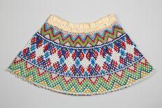 Dressing It Up: Beadwork in Northern Communities Beaded Collar, Beading Tutorials, Cotton Thread, Bead Weaving, Traditional Outfits, Arctic, Bobs, Handicraft, The Twenties
