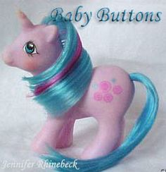Buttons My Little Pony